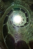 Spiral tunnel Royalty Free Stock Images