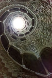 Spiral tunnel Royalty Free Stock Image