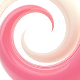 Spiral twirl as abstract background Royalty Free Stock Image
