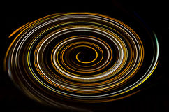 Spiral type of background for the light. Light spiral type of background Stock Photography