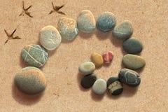 Spiral uppveckling för sten arkivfoton