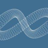 spiral vektor för illustration 3d Royaltyfria Foton