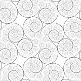 spiral vektor för modell stock illustrationer