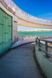 Spiral walkway in Clearwater, Florida. Stock Image
