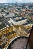Church of our Saviour in Copenhagen, Denmark stock image