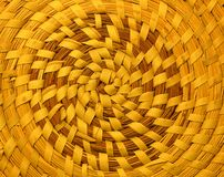 Spiral Weave. Texture, colour, and pattern combined Royalty Free Stock Photography