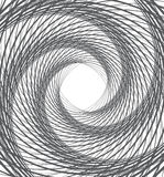 Spiral whirl abstract background black and white Stock Image