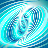 Spiral whirl movement. royalty free illustration