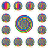 Spiral Whirl Royalty Free Stock Photography