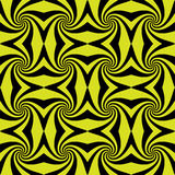 Spiral whirls seamless pattern. Royalty Free Stock Images