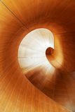 Spiral wooden stairs in Toronto Stock Photography
