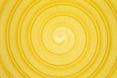 Yellow spiral background Royalty Free Stock Photo