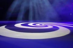 spirala światła Zdjęcie Stock