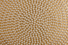 Spirala biali koraliki fotografia stock