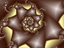 Spirala diamanter II royaltyfri illustrationer