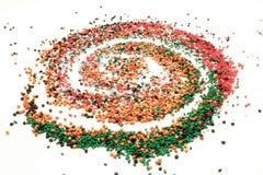 Spirala klingeryt zdjęcie royalty free