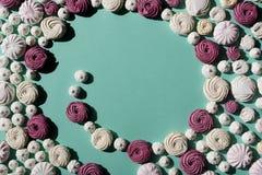 Spirala marshmallows obraz royalty free