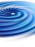 spirala stormar för öga Royaltyfri Foto