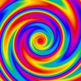 spirala tęczy Zdjęcie Royalty Free