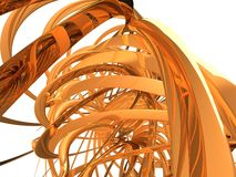 Spirale abstraite Photos stock