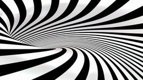 spirale astratta 3d resa Immagini Stock Libere da Diritti