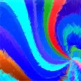 Spirale blu Fotografie Stock
