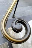 Spirale de balustrade photographie stock libre de droits
