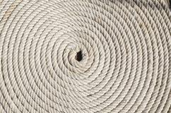 Spirale de corde Images libres de droits