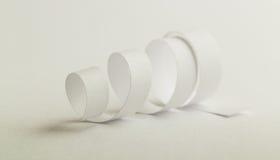 Spirale de livre blanc Photos libres de droits