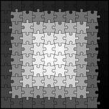 Spirale de puzzle Photo libre de droits