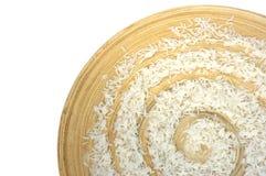 Spirale de riz Image libre de droits