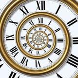 Spirale de temps Images libres de droits