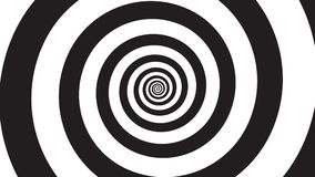 Spirale de visualisation d'hypnose illustration stock