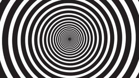 Spirale de visualisation d'hypnose illustration de vecteur