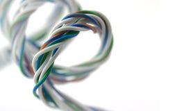 Spirale dei collegare colorati fotografie stock