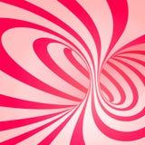 Spirale del bastoncino di zucchero Fotografia Stock