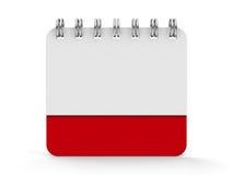 Spirale 3 del calendario dell'icona royalty illustrazione gratis