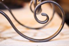 Spirale del ferro battuto Immagini Stock Libere da Diritti