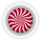 Spirale della caramella della lecca-lecca Fotografia Stock