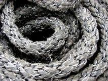 Spirale della corda della nave Fotografia Stock