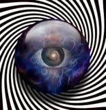 Spirale della galassia dell'occhio Fotografia Stock Libera da Diritti
