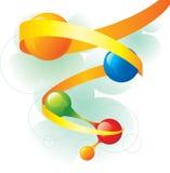 Spirale della molecola Illustrazione di Stock