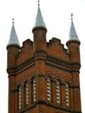 Spirale della torretta del castello Fotografie Stock Libere da Diritti