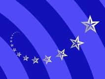 Spirale delle stelle Immagine Stock