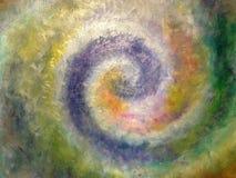 Spirale des goldenen Schnitts Stockbild