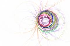 Spirale di frattale illustrazione vettoriale