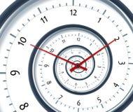 Spirale di tempo Fotografia Stock