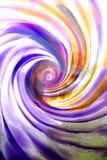 Spirale di vetro a basso contrasto Fotografia Stock