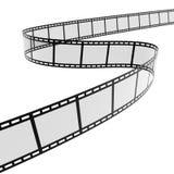 spirale du film 3d Photographie stock libre de droits