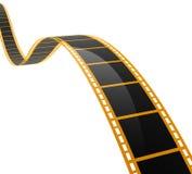 SPIRALE du FILM 3D Photo libre de droits